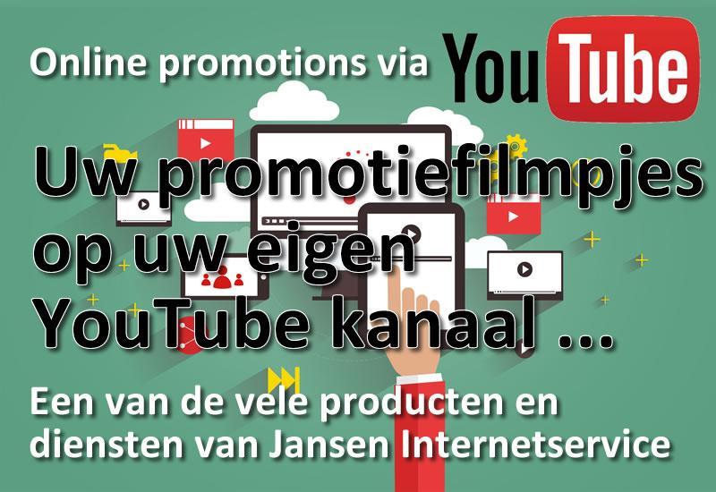 YouTube promotie filmpjes