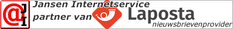 Jansen Internetservice is officieel partner van Laposta
